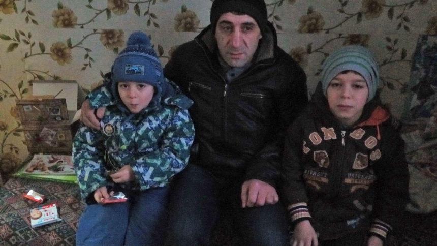 Мамедов с детьми - декабрь 2016