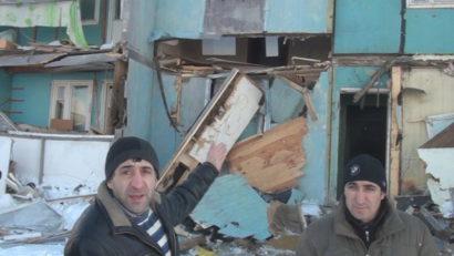 21 февраля - разрушение дома Звёздная 57
