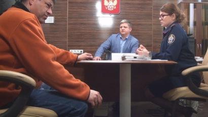 Буларга на приёме у Сенченко